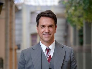 Oriol Tarrasón es Abel, un viejo conocido del peligroso Armando Ordóñez en la novena temporada de 'Amar es para siempre'