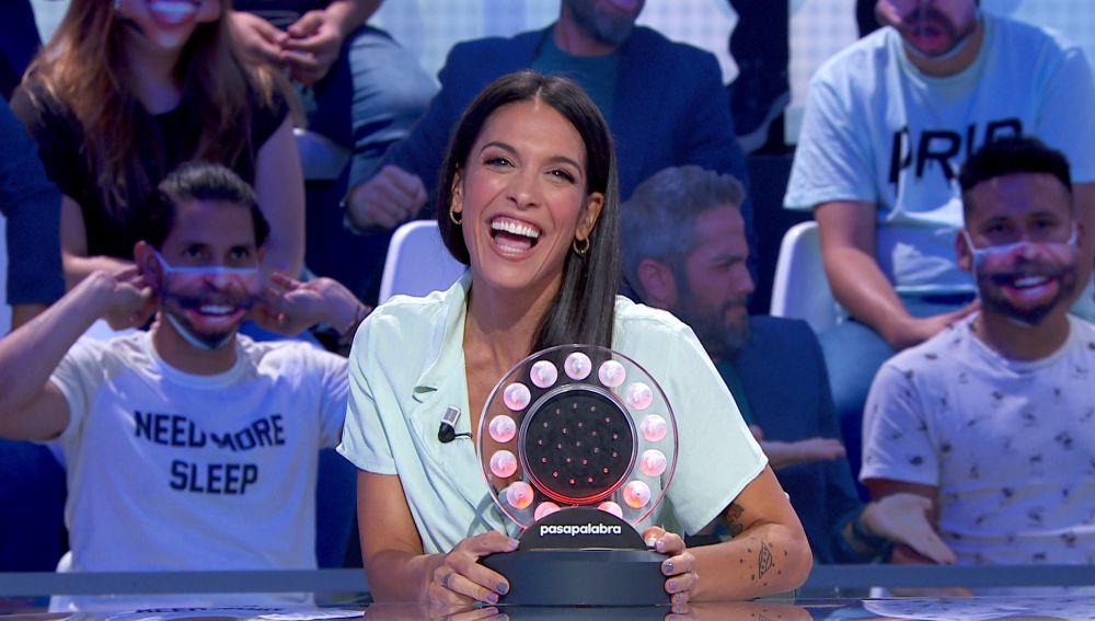 Lorena Castell inventa una nueva cabecera para 'La Pista' de 'Pasapalabra'