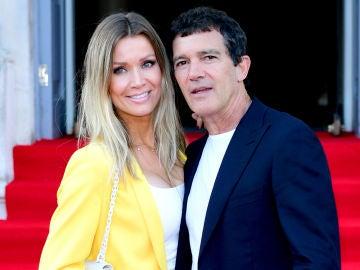 Antonio Banderas y su novia, Nicole Kimpel