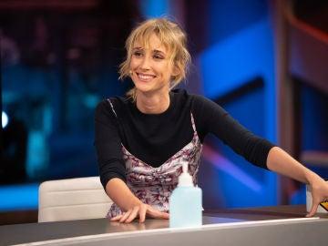 ¡Lapsus en directo! Ingrid García-Jonsson suelta un spoiler sobre su nueva película en 'El Hormiguero 3.0'