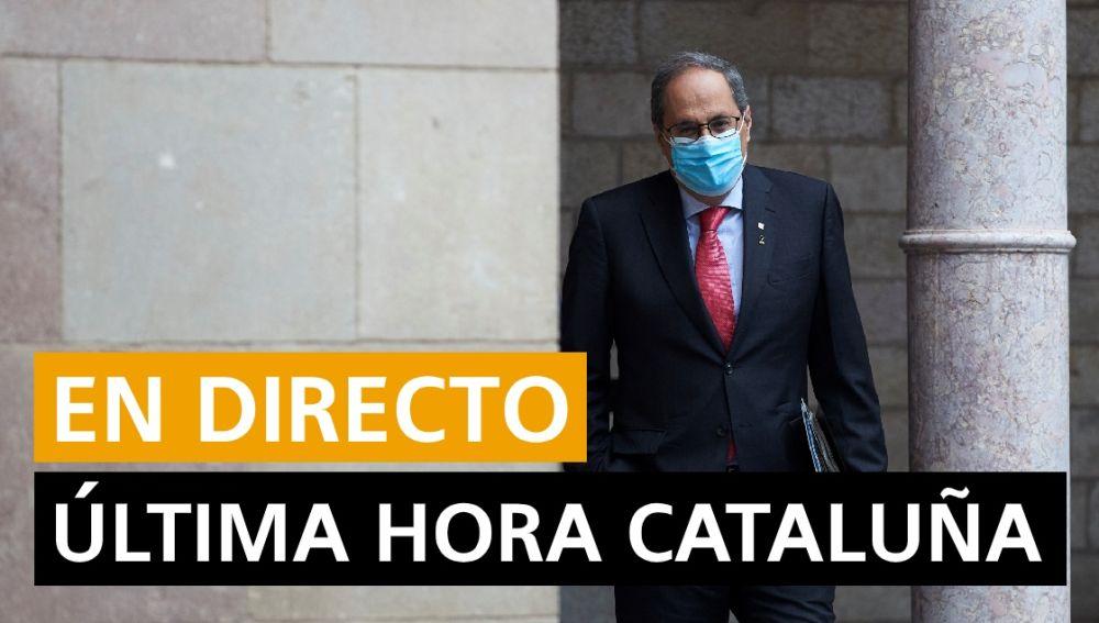 Cataluña hoy: Coronavirus, inhabilitación de Quim Torra y noticias de última hora, en directo