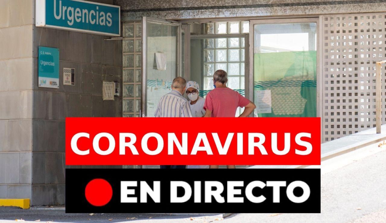Última hora del coronavirus en España, en directo