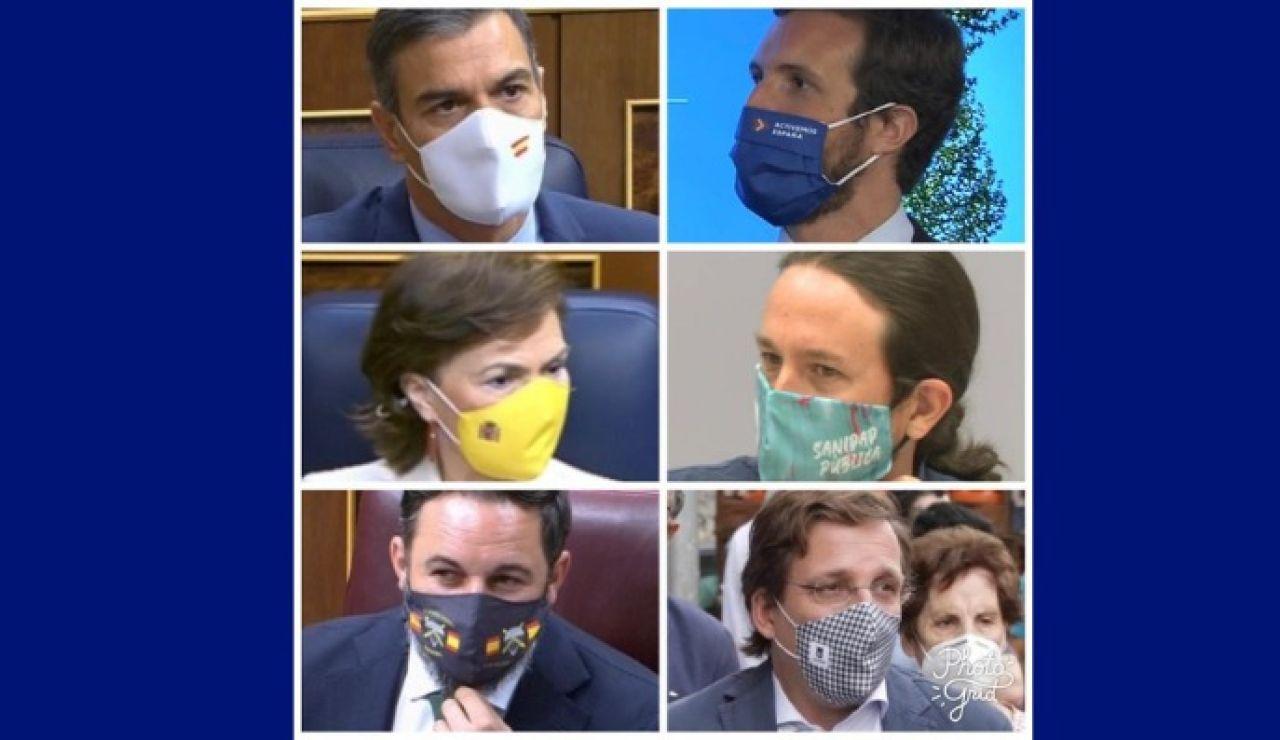 Las mascarillas de los políticos
