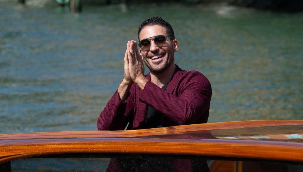 Miguel Ángel Silvestre durante el Festival de Cine de Venecia