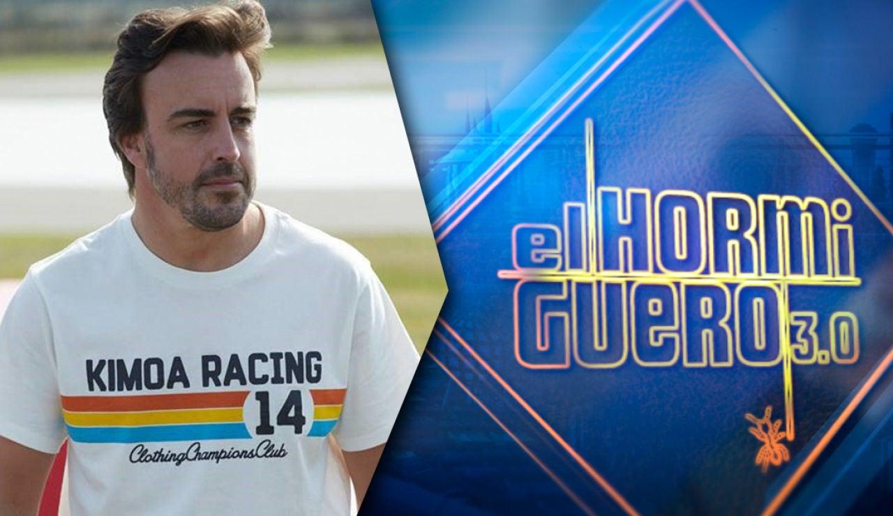 El jueves, Fernando Alonso visita 'El Hormiguero 3.0'