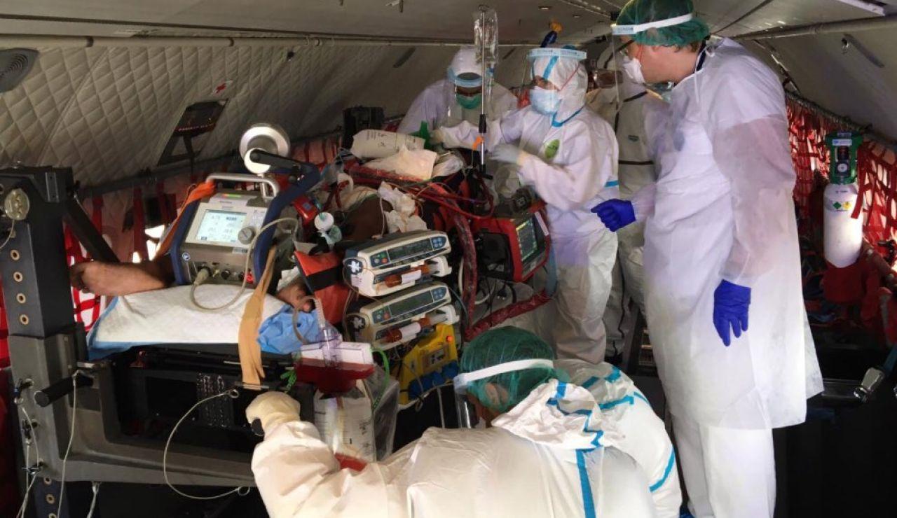 Trasladada una niña de once años de Mallorca a Barcelona en estado grave por coronavirus