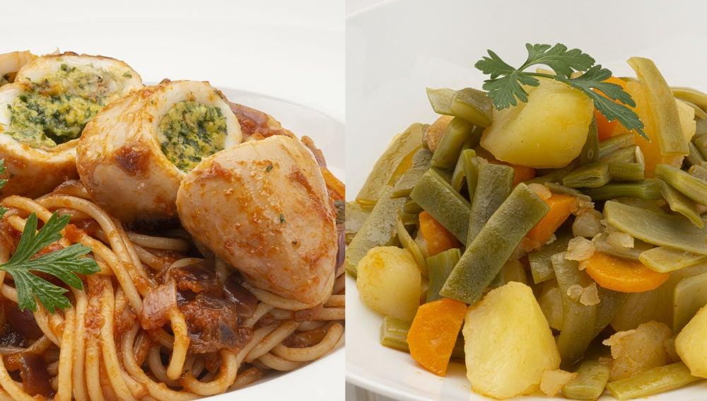 El menú más versátil de Karlos Arguiñano: verdura, pasta, pescado y hortalizas
