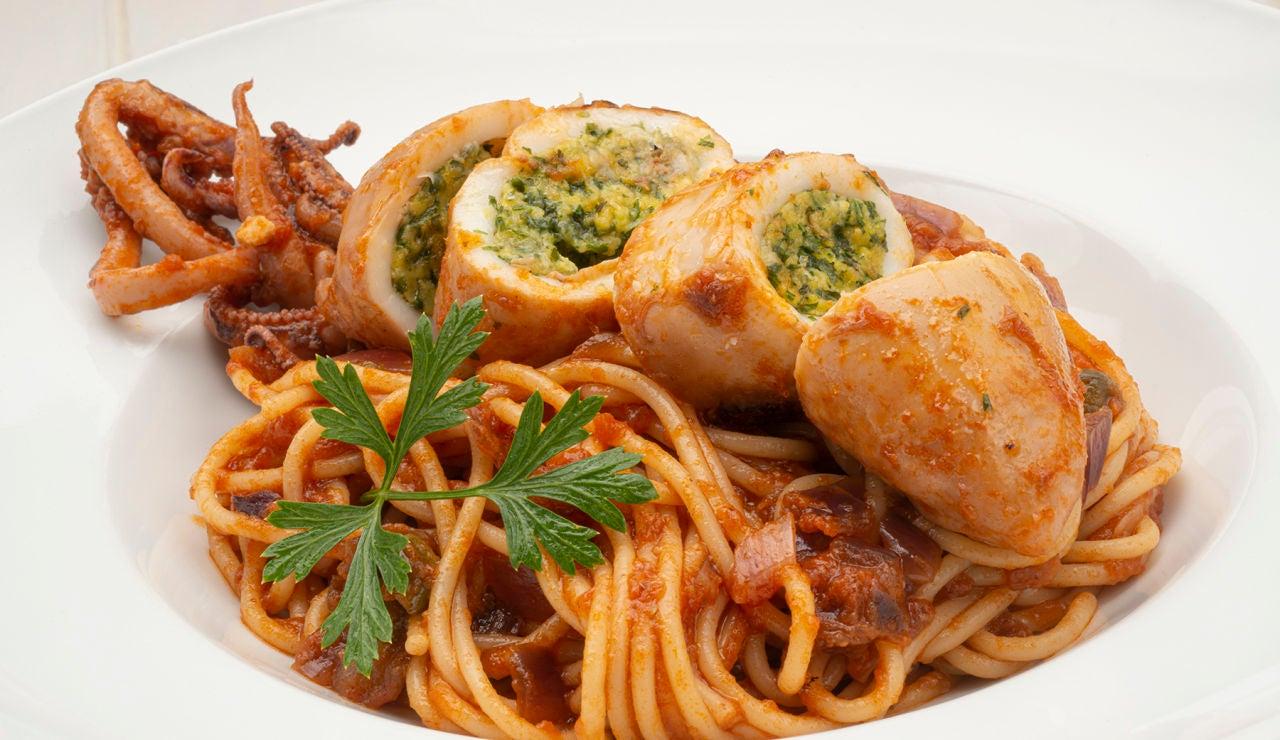 Receta de calamares a la italiana, de Karlos Arguiñano