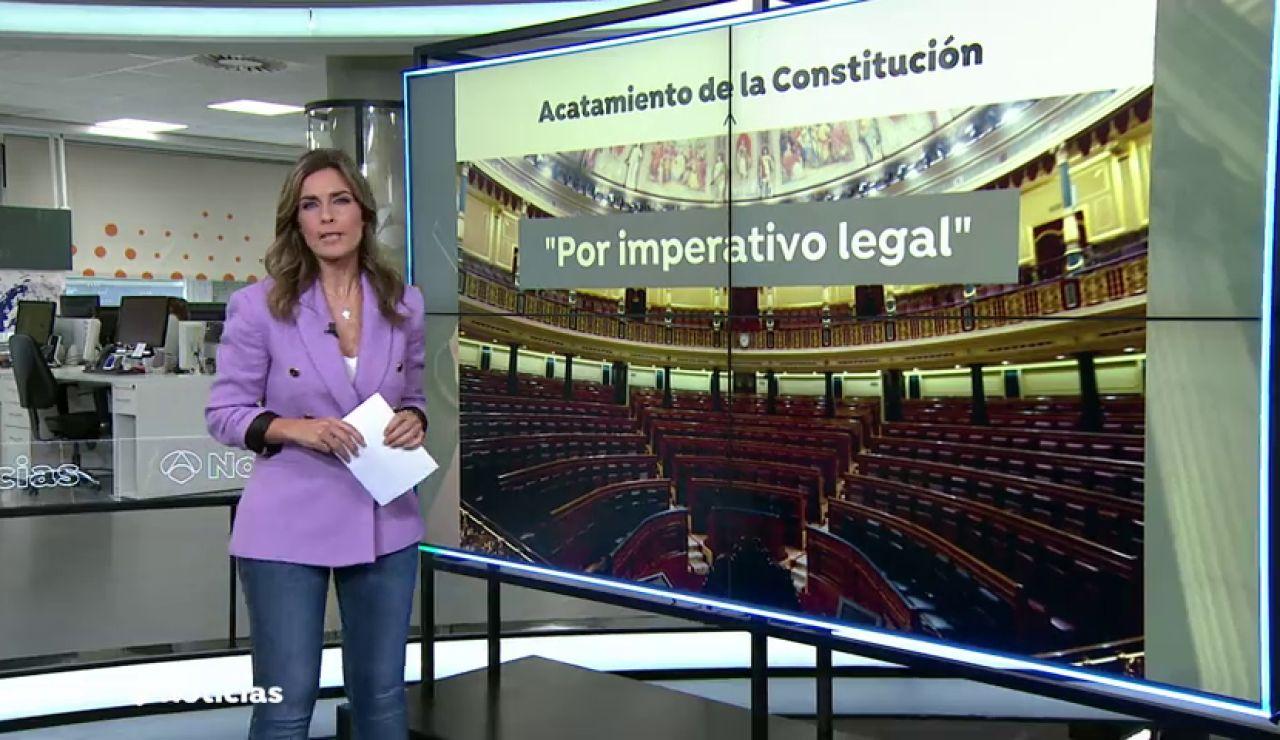 Los socialistas plantean retirar del Código de Conducta de las Cortes la exigencia de acatar la Constitución