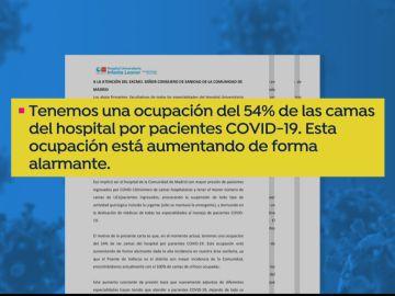 Carta de médicos de Madrid a Enrique Escudero