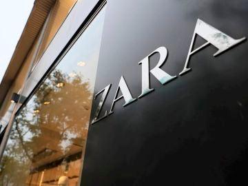 Fachada de una tienda de Zara