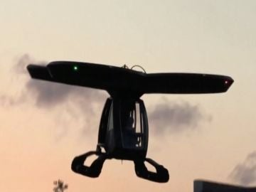 Coche volador turco