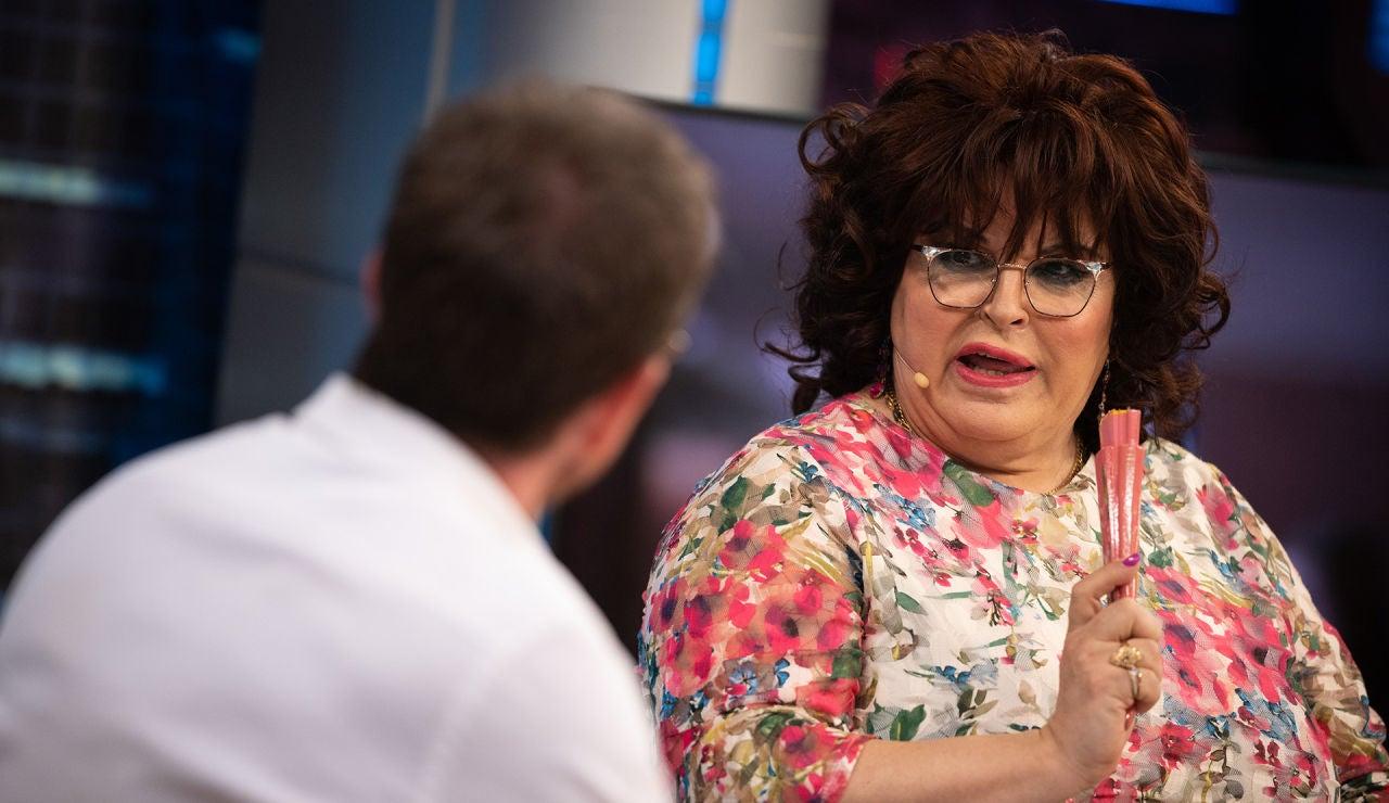 Paca La Piraña se emociona en directo en 'El Hormiguero 3.0' al ver imágenes de Cristina La Veneno