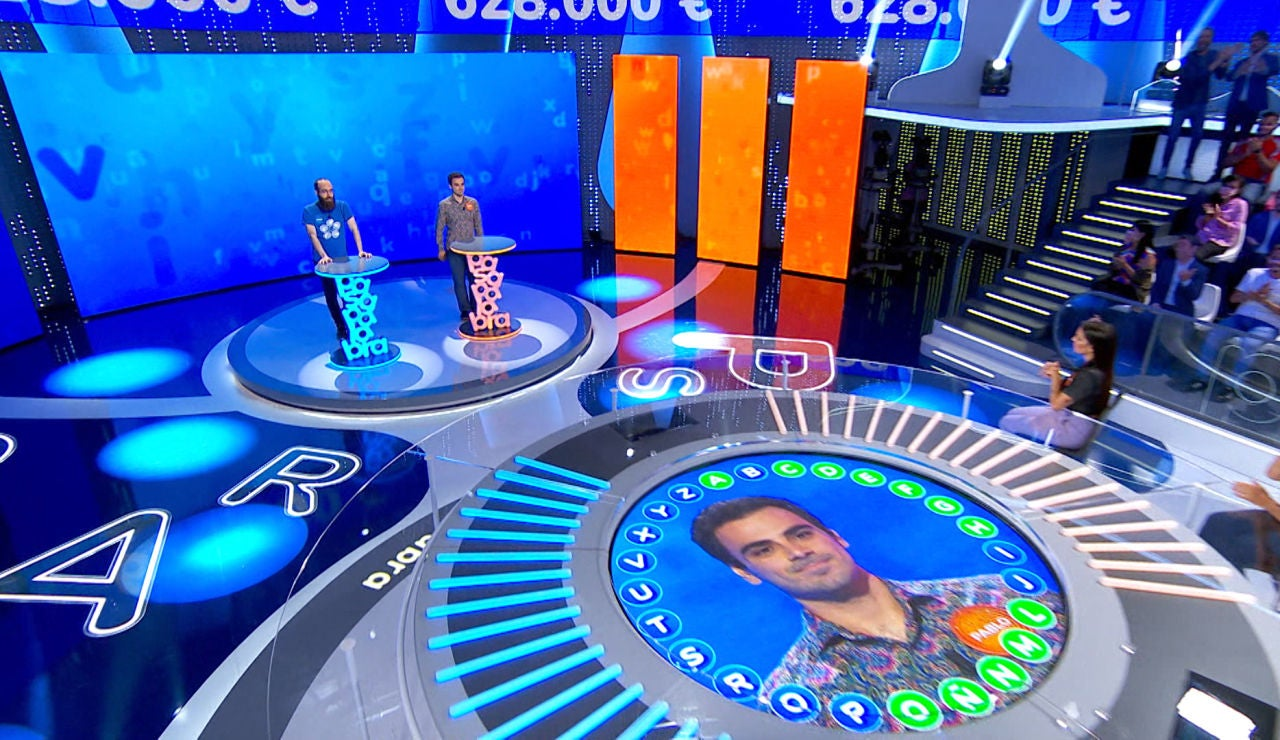 Una sublime segunda vuelta de Pablo en 'El Rosco' le otorga la victoria frente a Diego