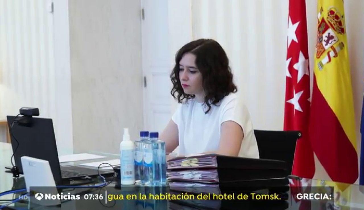 Isabel Díaz Ayuso anuncia las nuevas restricciones por el coronavirus en la Comunidad de Madrid