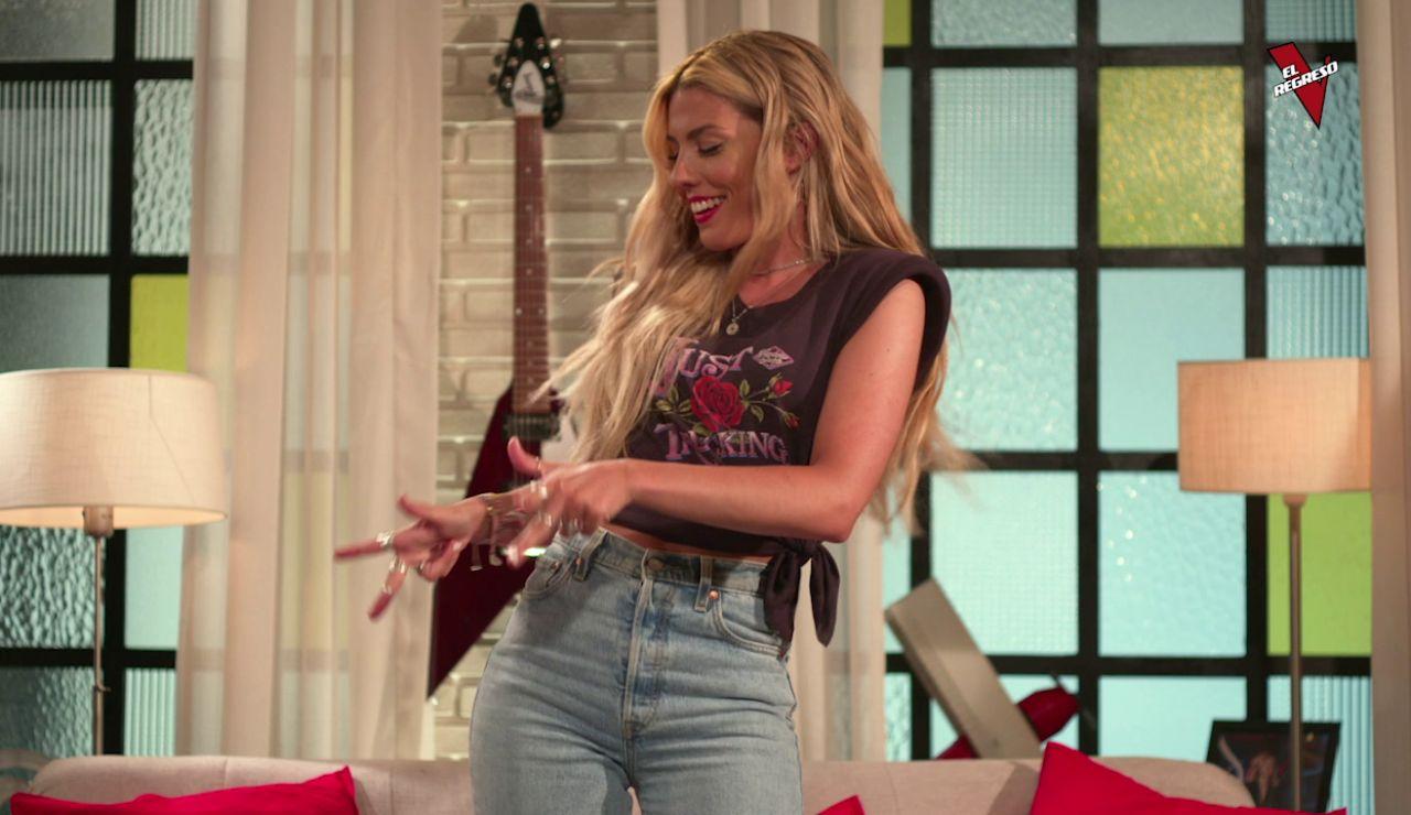 Melo enseña a bailar bachata a Miriam Rodríguez en 'El Regreso'