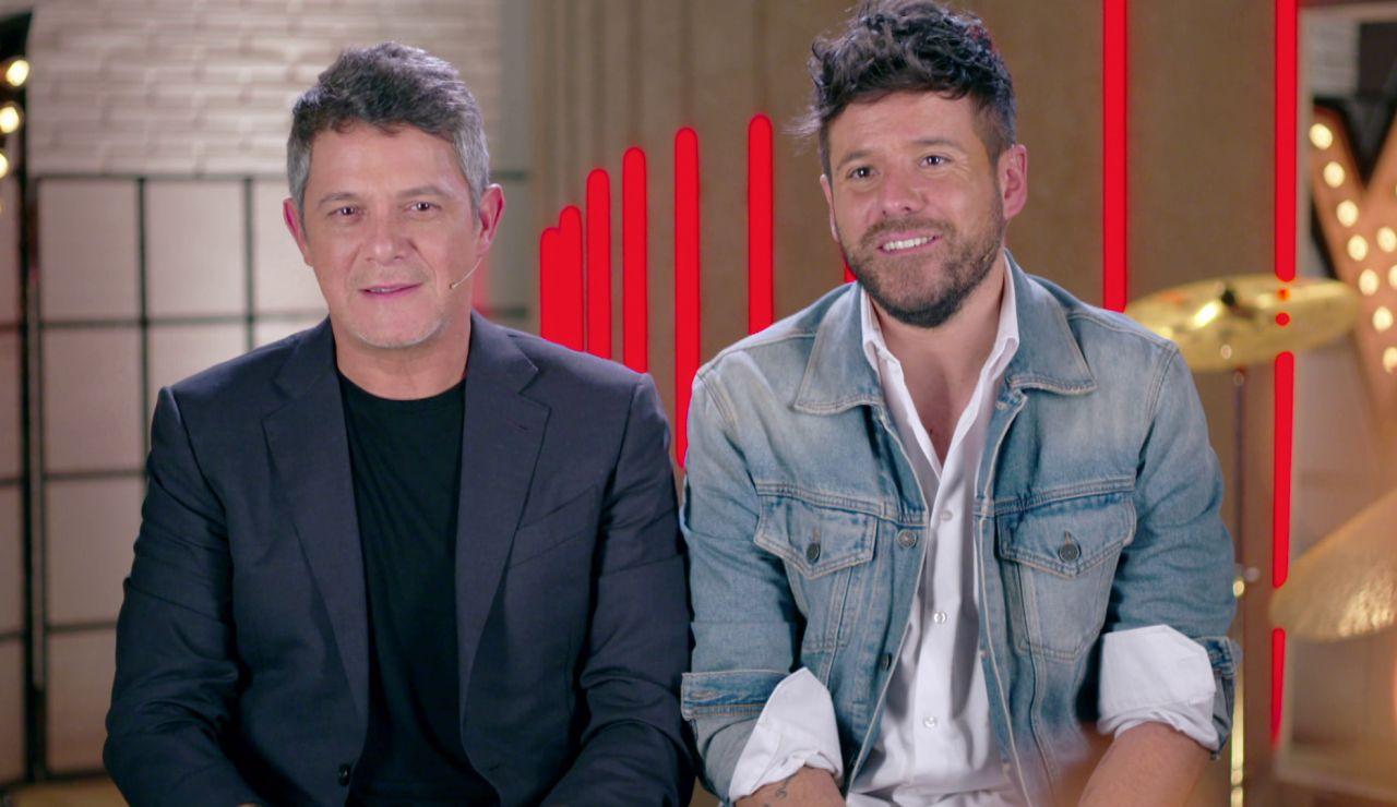 Alejandro Sanz y Pablo López