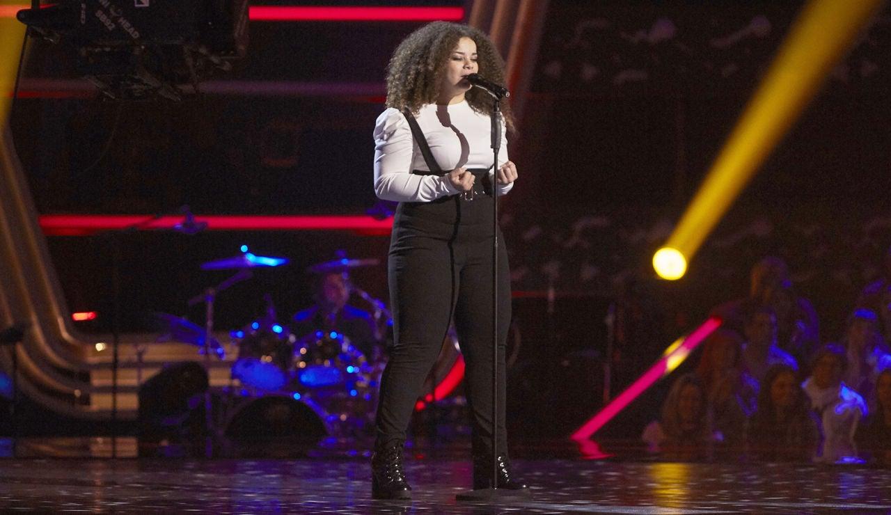 Carolina Gómez pone el ritmo con 'Remember Me' en las Audiciones a ciegas de 'La Voz'