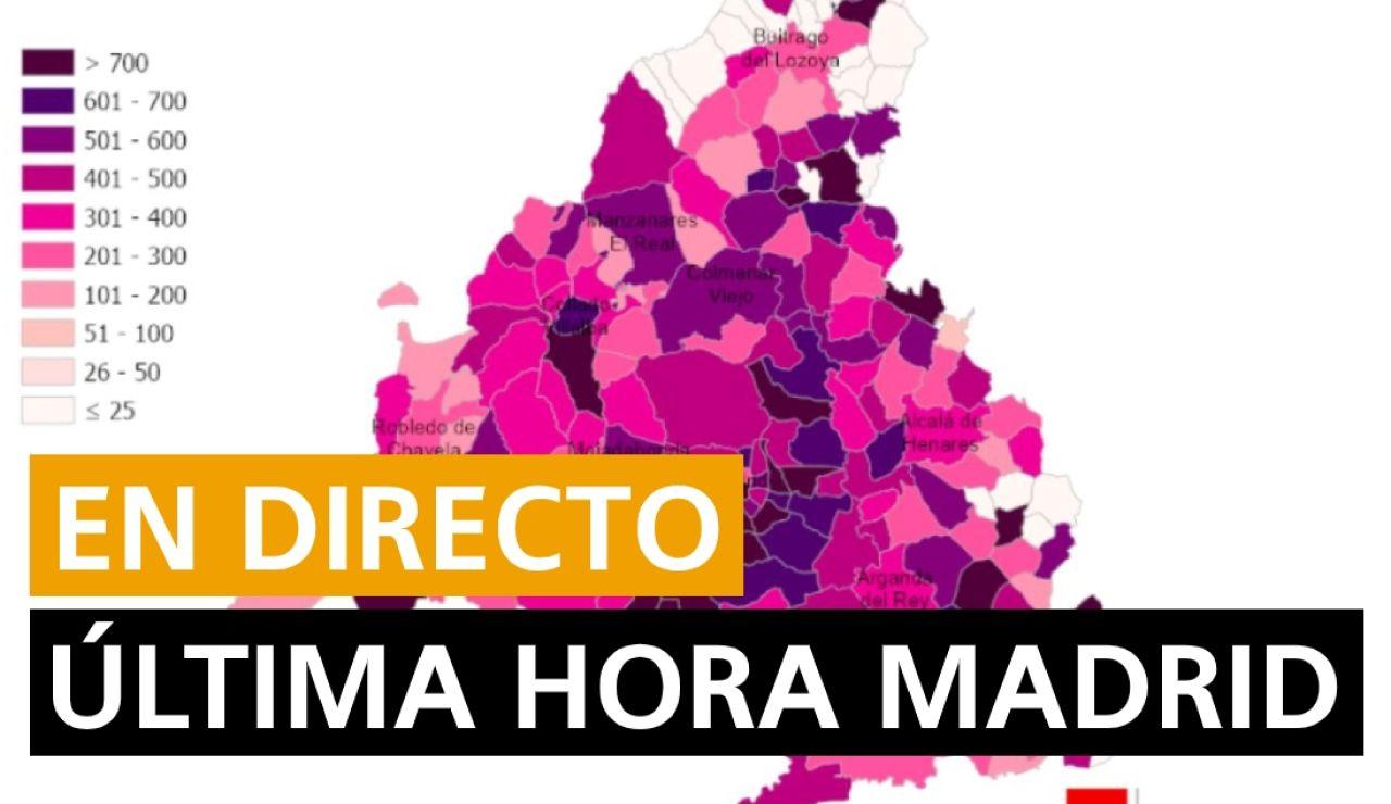 Madrid: Restricciones, comfinamientos y última hora del coronavirus en Madrid hoy, en directo