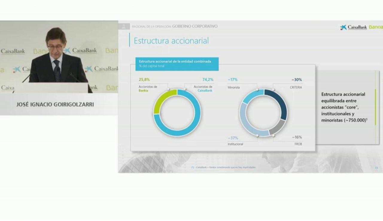 El Estado tendrá el 16% del banco entre CaixaBank y Bankia