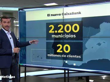 REEMPLAZO: El Estado tendrá el 16% de la fusión de las entidades de CaixaBank y Bankia