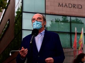 Ángel Gabilondo, portavoz del PSOE en la Asamblea