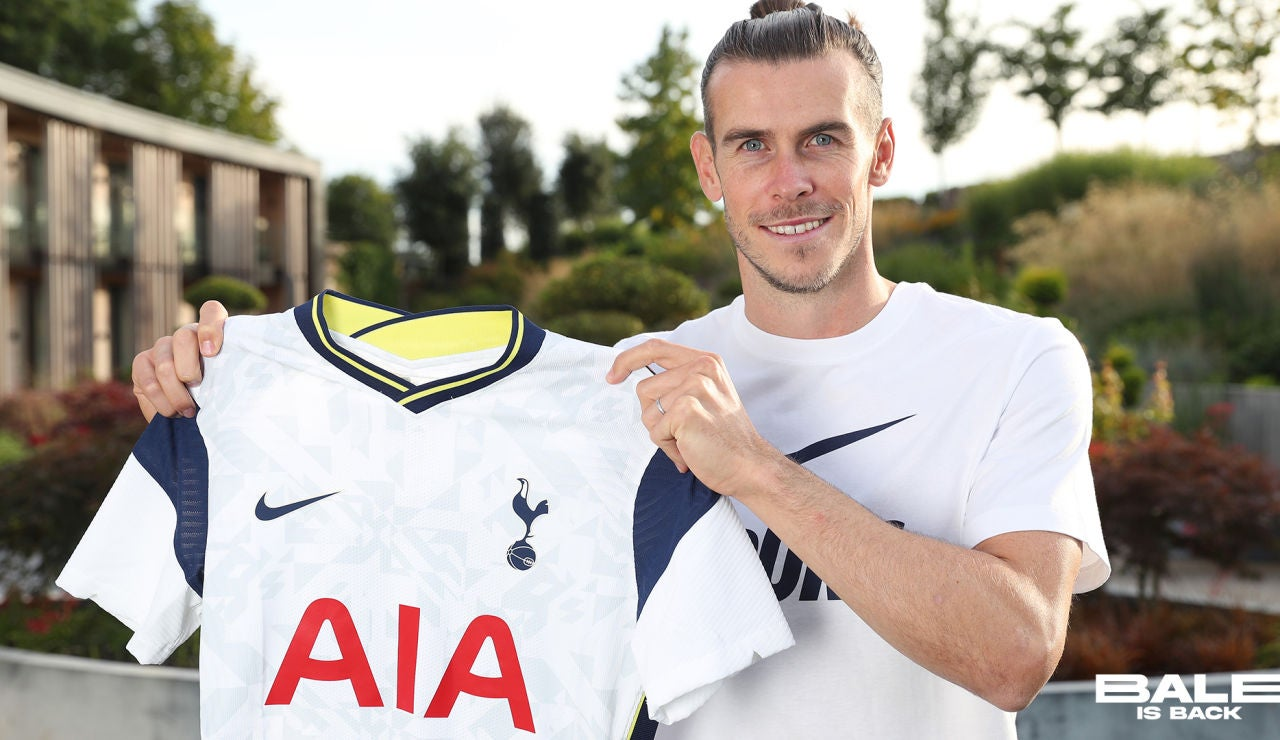Oficial: Gareth Bale, cedido al Tottenham