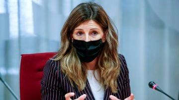 a ministra de Trabajo y Economía Social, Yolanda Díaz