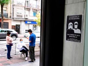 Vecinos de las zonas afectadas de Madrid