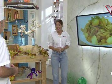 Ainhoa Sánchez explica los beneficios de las recetas de la semana de Karlos Arguiñano respetando las cinco raciones diarias de frutas y verduras