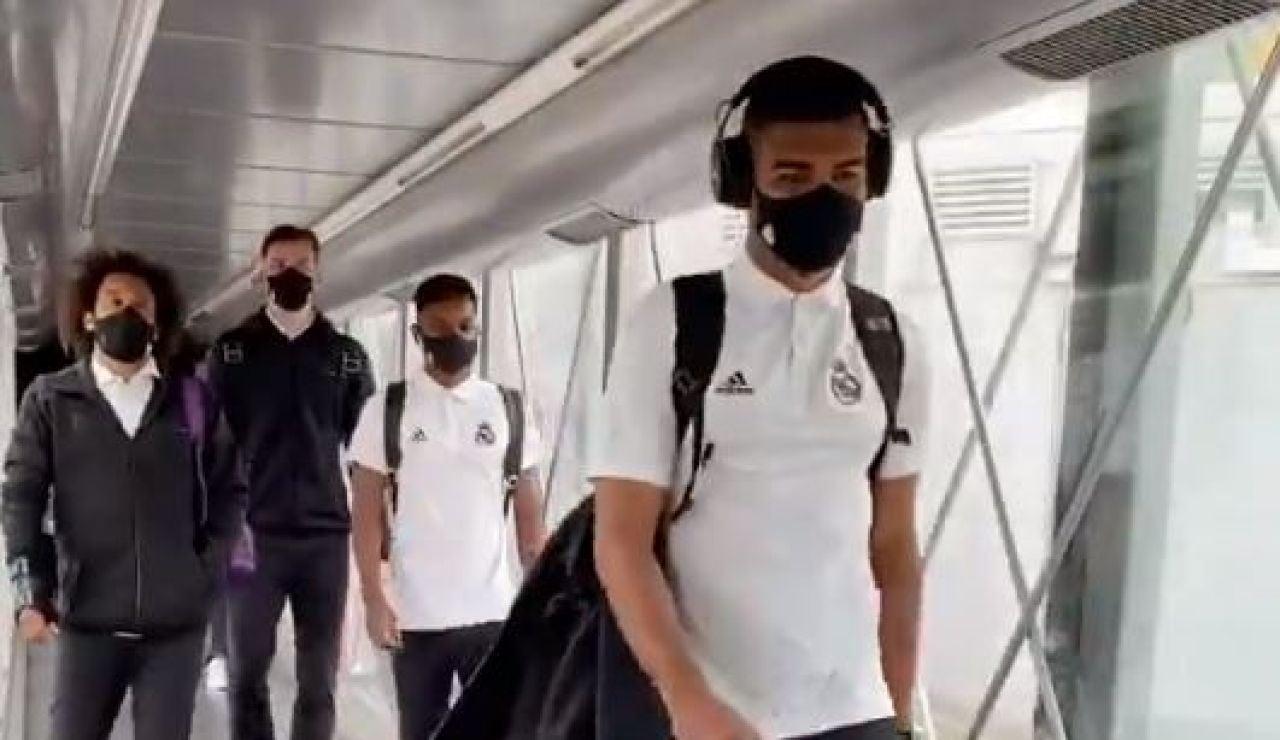 El avión del Real Madrid sufre una avería cuando viajaban a San Sebastián para empezar LaLiga