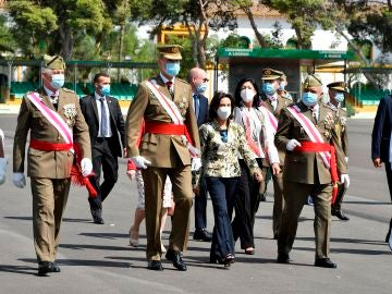 El Rey Felipe en el acto por el aniversario de La Legión