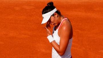 Garbiñe Muguruza cae ante Halep en la semifinal del Masters Roma
