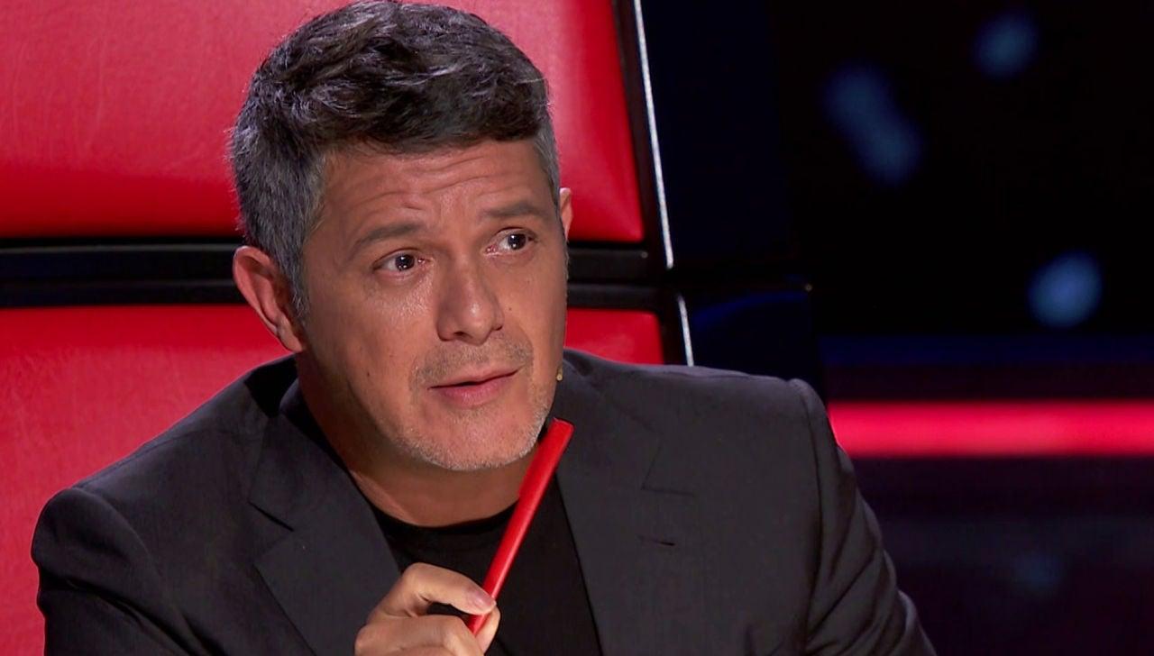 Alejandro Sanz se rinde ante el talento de Rafael Ruiz en 'La Voz'