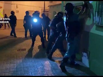 La Guardia Civil desarticula una red dedicada al narcotráfico en Campo de Gibraltar