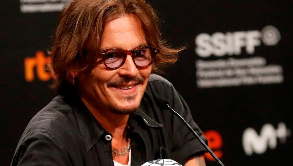 El actor estadounidense Johnny Depp