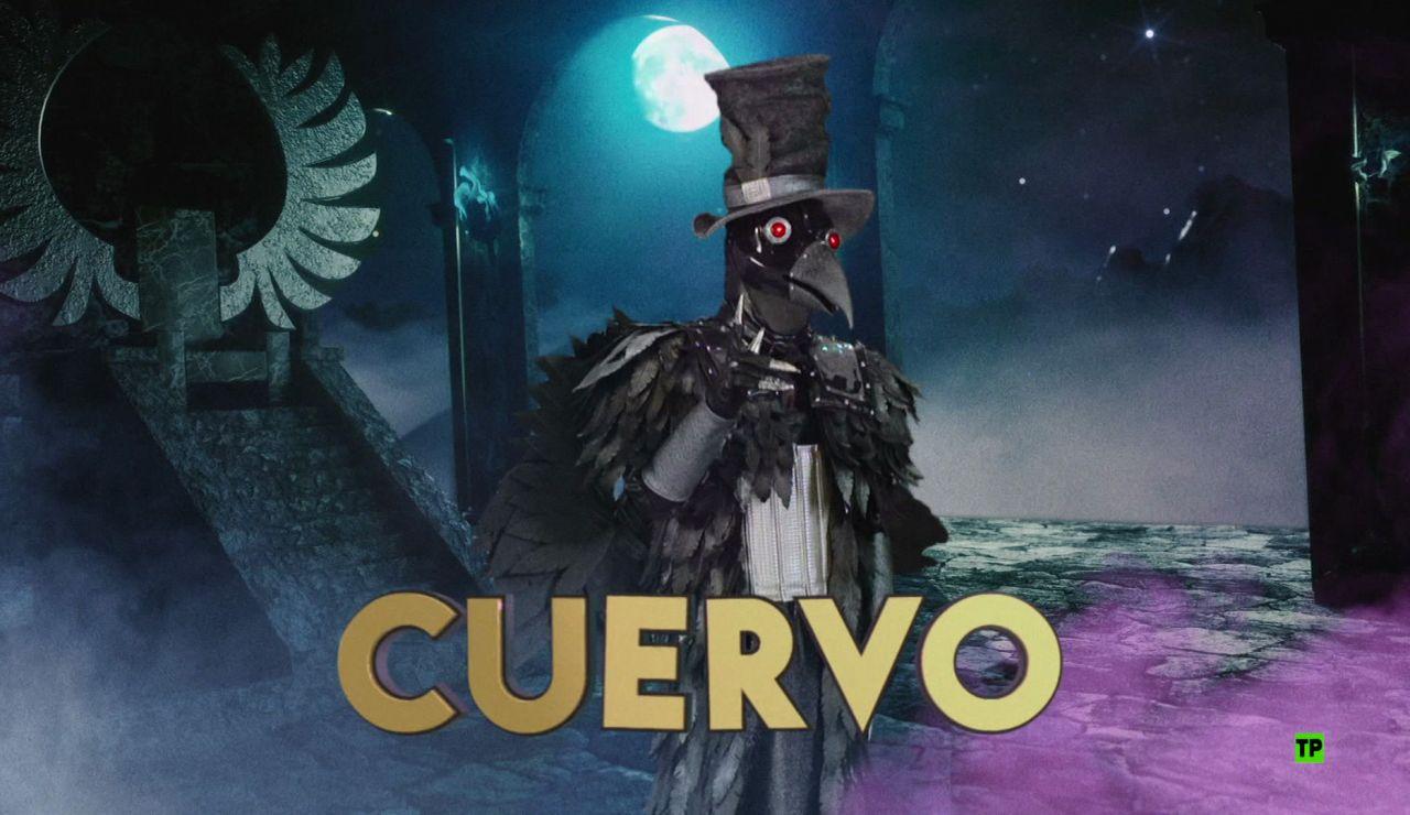 ¿Qué famoso se esconde detrás de la máscara de 'el Cuervo'?