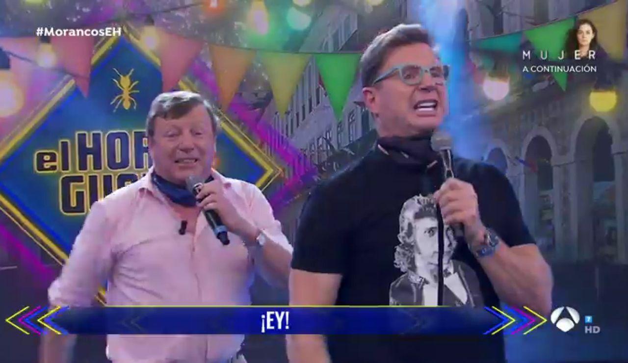 Los Morancos levantan el ánimo en 'El Hormiguero 3.0' interpretando en directo su éxito viral 'La nueva normalidad'