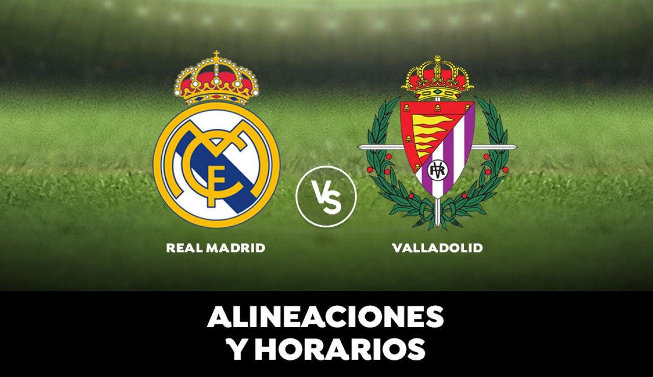 Real Madrid - Valladolid: Horario, alineaciones y dónde ver el partido de la Liga Santander en directo