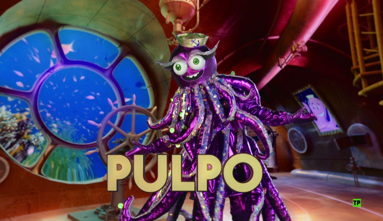¿Qué famoso se esconde detrás de la máscara de 'el Pulpo'?