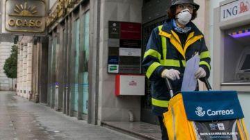 Las oficinas de Correos también harán de cajeros del Banco Santander