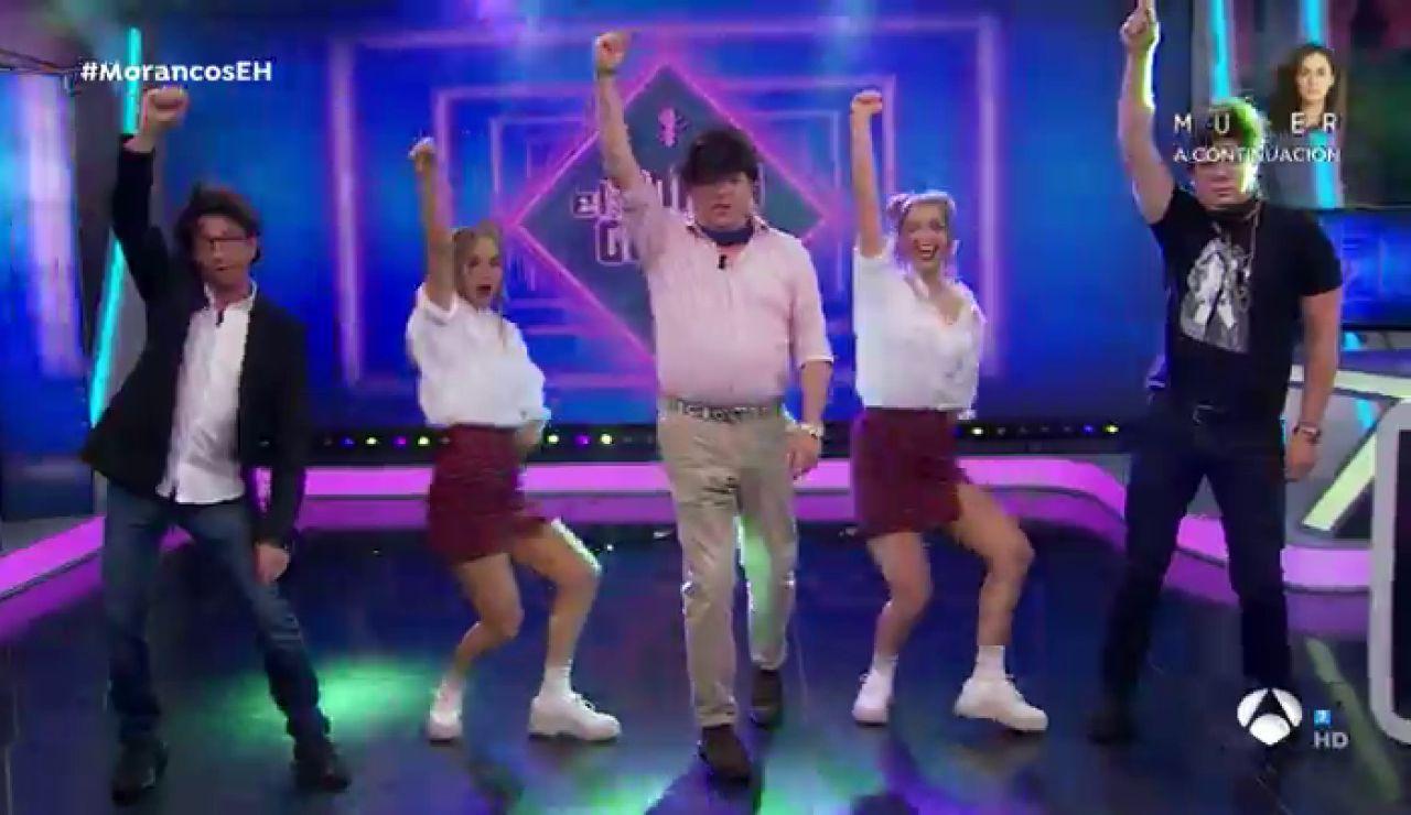 Las Twin Melody convierten a Los Morancos y a Pablo Motos en TikTokers profesionales con unos sencillos trucos