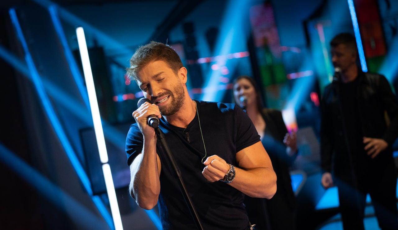 Pablo Alborán canta, en riguroso directo y por primera vez, su nuevo single 'Si hubieras querido' en 'El Hormiguero 3.0'