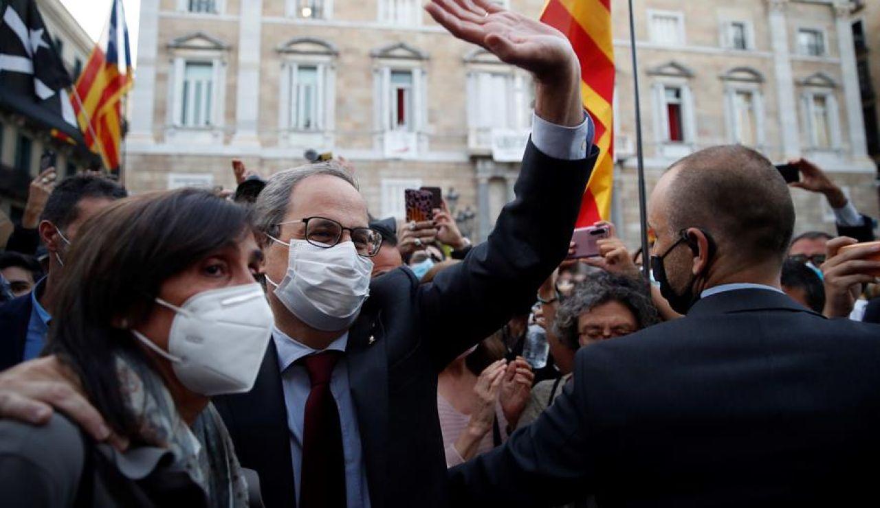 Quim Torra pide al Tribunal Constitucional que suspenda de forma urgente su inhabilitación como presidente de la Generalitat