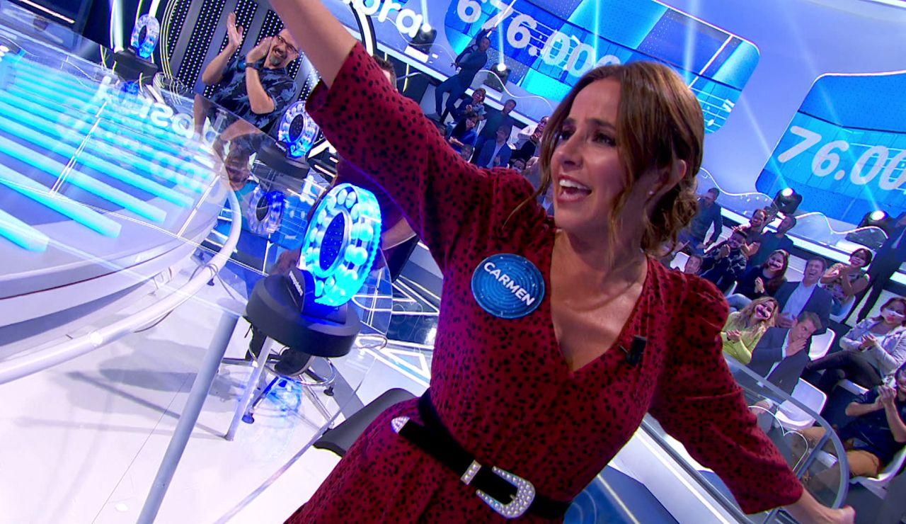 """La rivalidad de Carmen Alcayde y Eva González en 'La Pista': """"Voy a saco, quiero quedar por encima"""""""