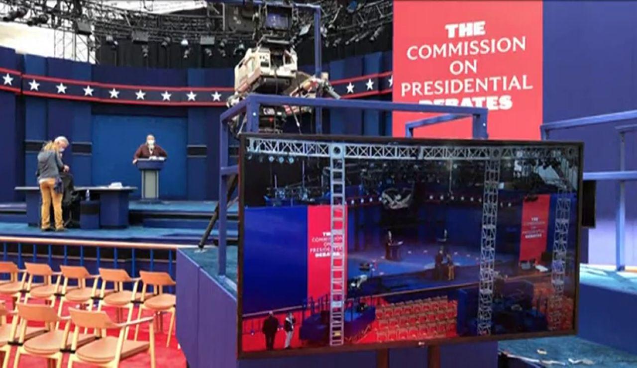 Donald Trump y Joe Biden se juegan en el primer debate quién lidera la carrera hacia la Casa Blanca