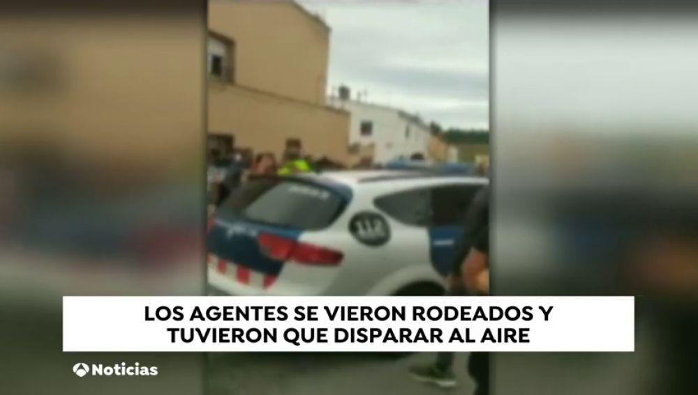 Acorralan a la policía en Figueres por perseguir a unos narcotraficantes