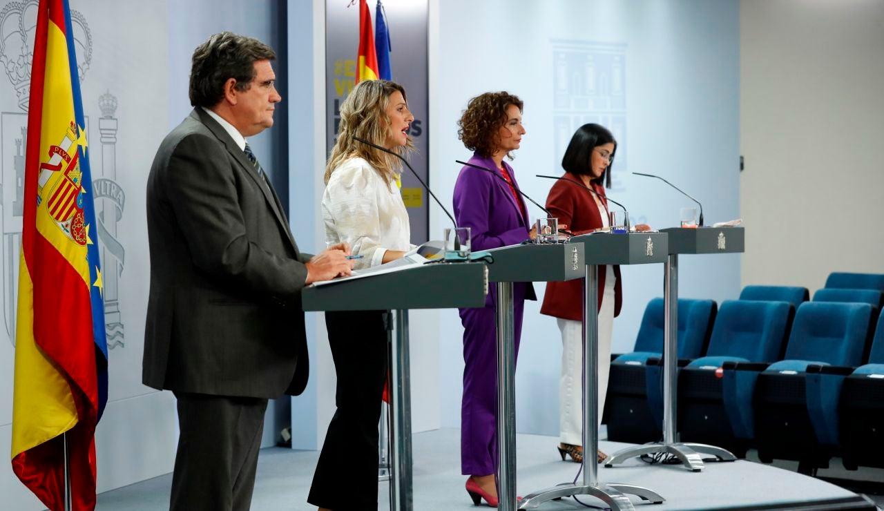Rueda de prensa tras la reunión del Consejo