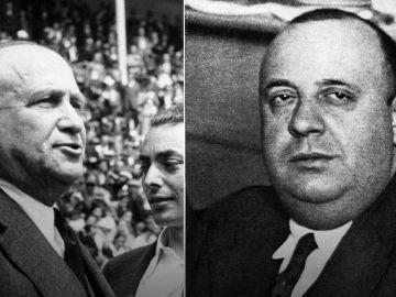 Los dirigentes socialistas de la Segunda República Francisco Largo caballero e Indalecio Prieto