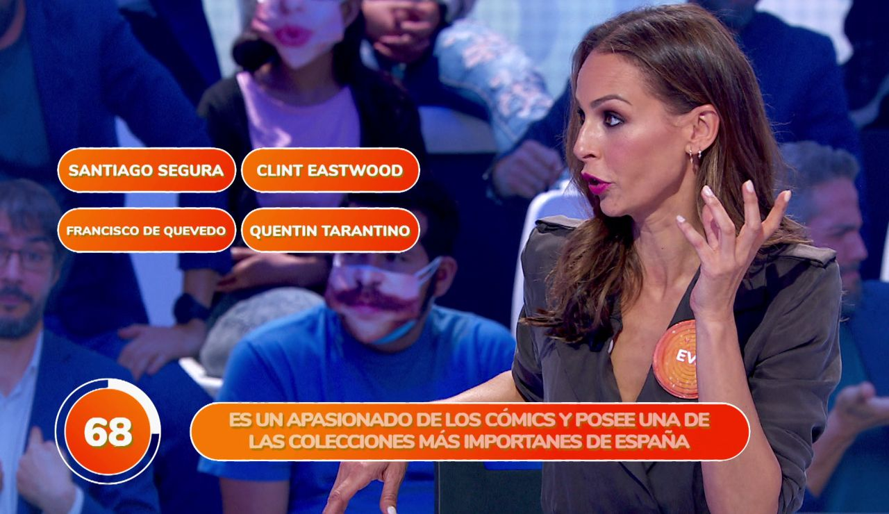Antonio Orozco descoloca a Eva González en 'Una de Cuatro'